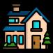 huis groot icoon