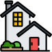 huis klein icoon