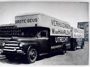 verhuiswagens van vroeger