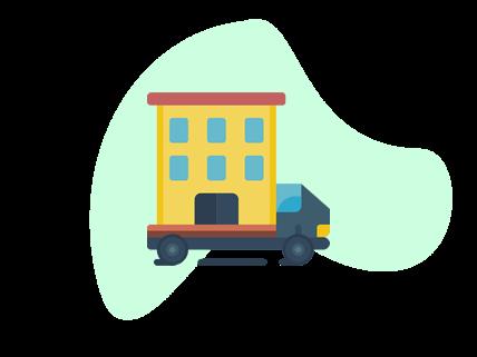 bedrijfsverhuizingen icoon