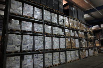archiefopslag loods bij w. van haarlem verhuisservice