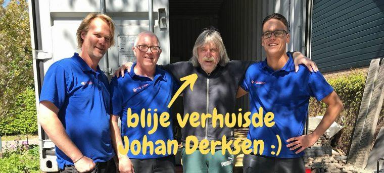 Johan Derksen verhuist door W Van Haarlem Verhuisservice